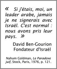 ben gourion citation